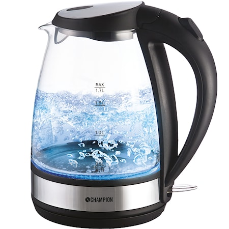Vattenkokare Glas 1,7L