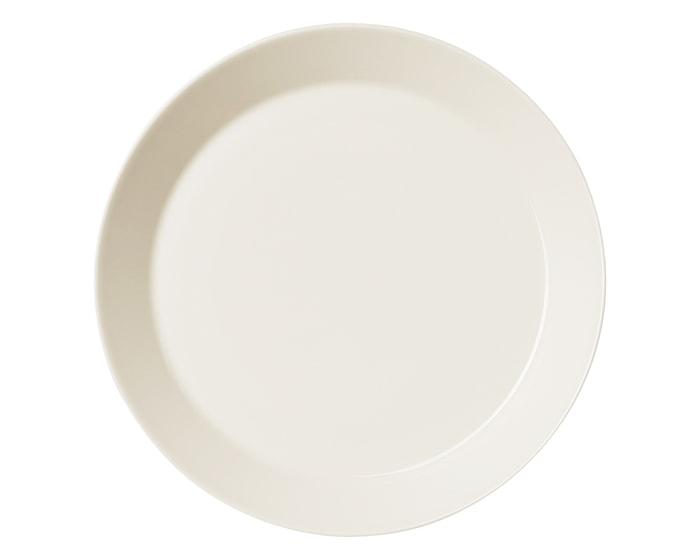 Teema Lautanen 23 cm valkoinen