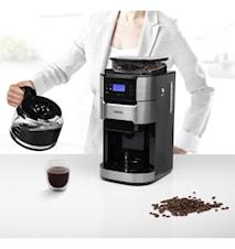 Kaffebryggare med Inbyggd Kvarn
