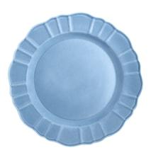 Plato circular 31 cm azul paloma