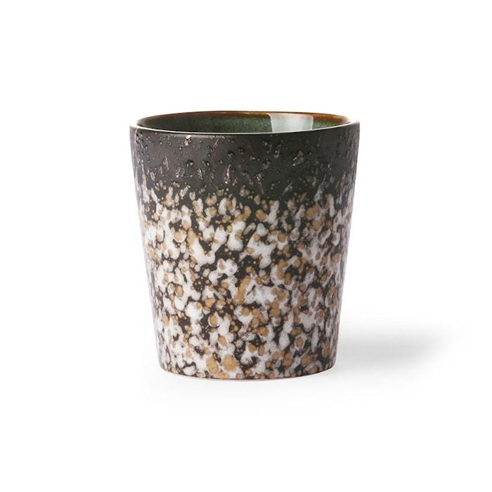 70's Keramik Mugg Brun 20 cl