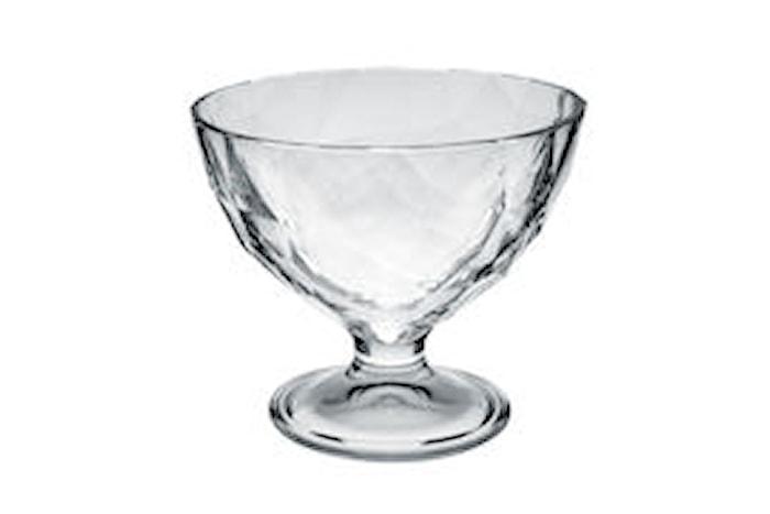Glasskål på fot 20cl