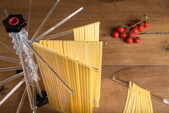 Torkställning för Pasta