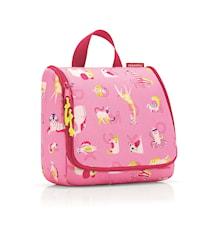 Toilettilaukku Lasten Vaaleanpunainen kuviollinen 3 L