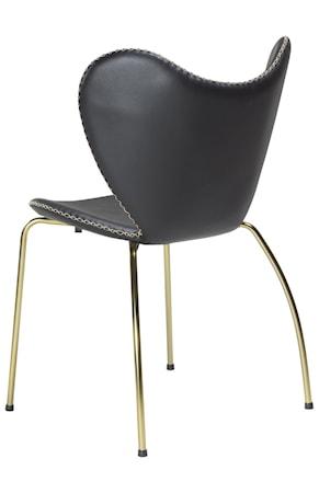 Stol Butterfly Svart/guld