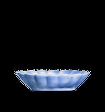 Oyster Skål Ljusblå 23x18cm