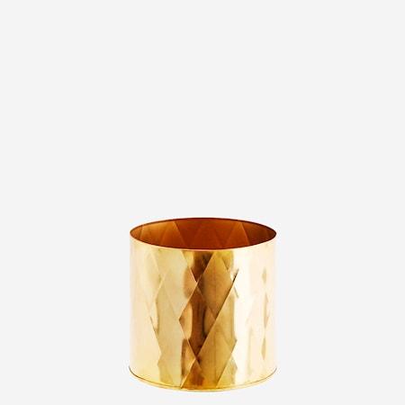 Kruka Ø 15cm Guld