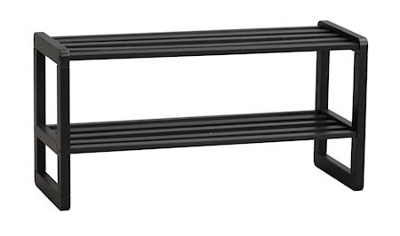Methro Skohylde Sort Eg 80 cm