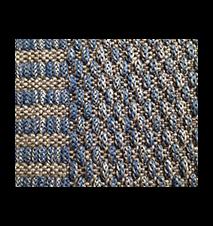 Goa teppe - Blå
