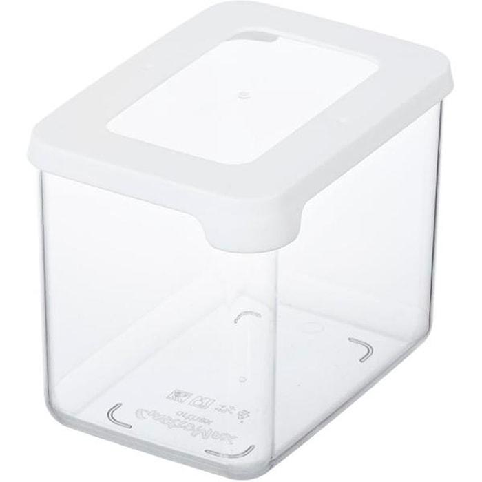 Torrförvaring Plast Vit 0,8L