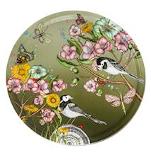 Nadja Wedin Design Brett 46 cm Wagtails Spring Black