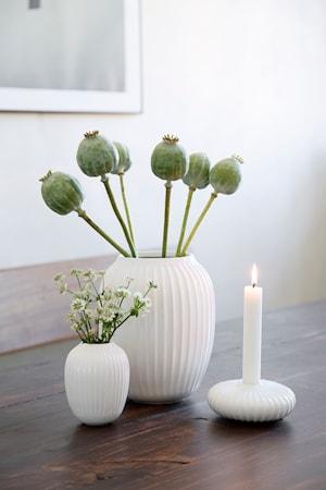 Hammershøi vase Hvid H 20 cm