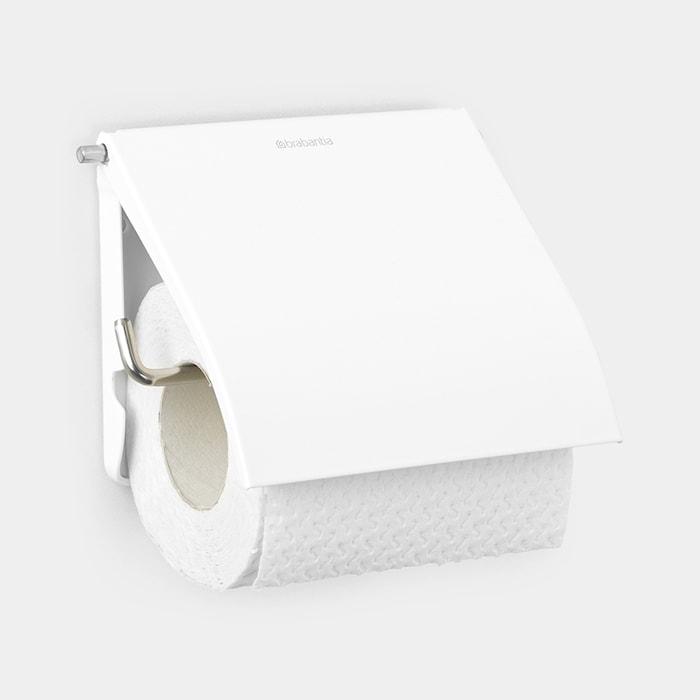 Toalettpappershållare 132x123 mm Vit