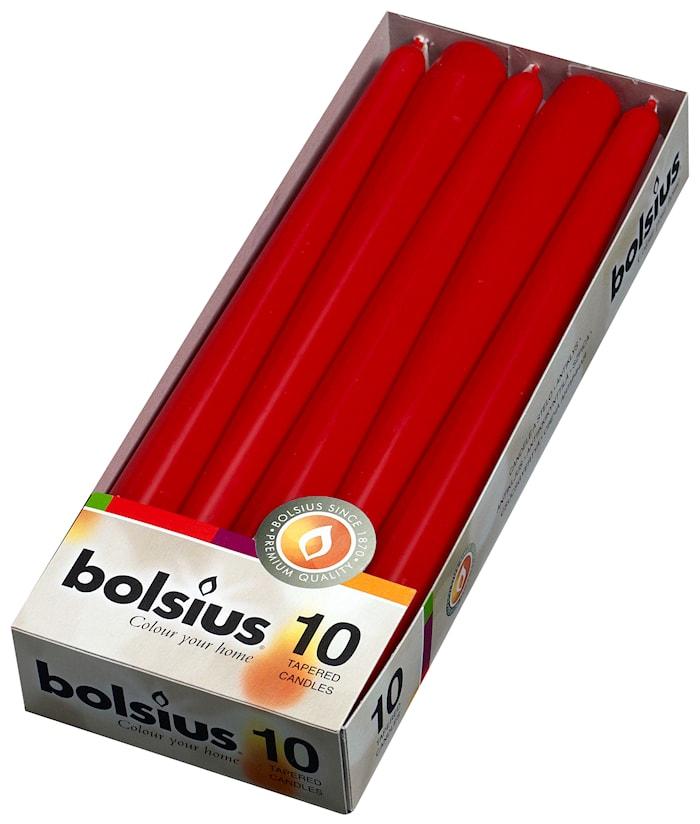 Ljus H: 12 cm Röd
