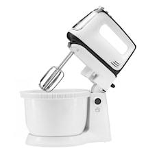 Delightful White Elektrische mixer met Kom 3,4L