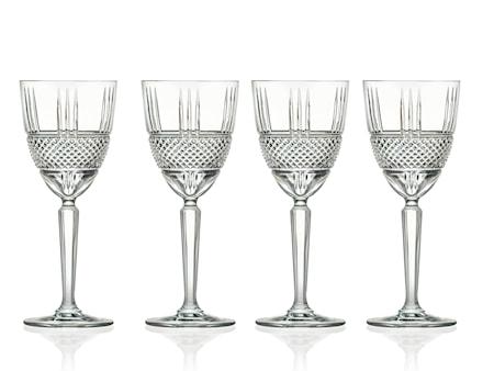 Hvitvinsglass Brillante 23 cl 4-pack