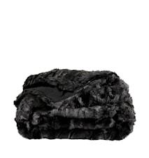 Leia Black Pläd 150x260