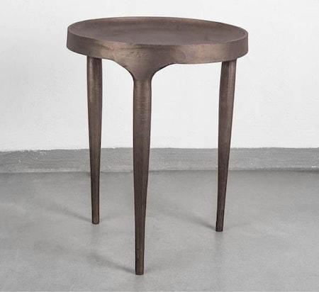 Phantom Sofabord Høy - Mørkebrun