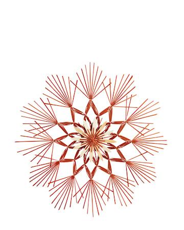 Dekoration Stjärna 62 cm