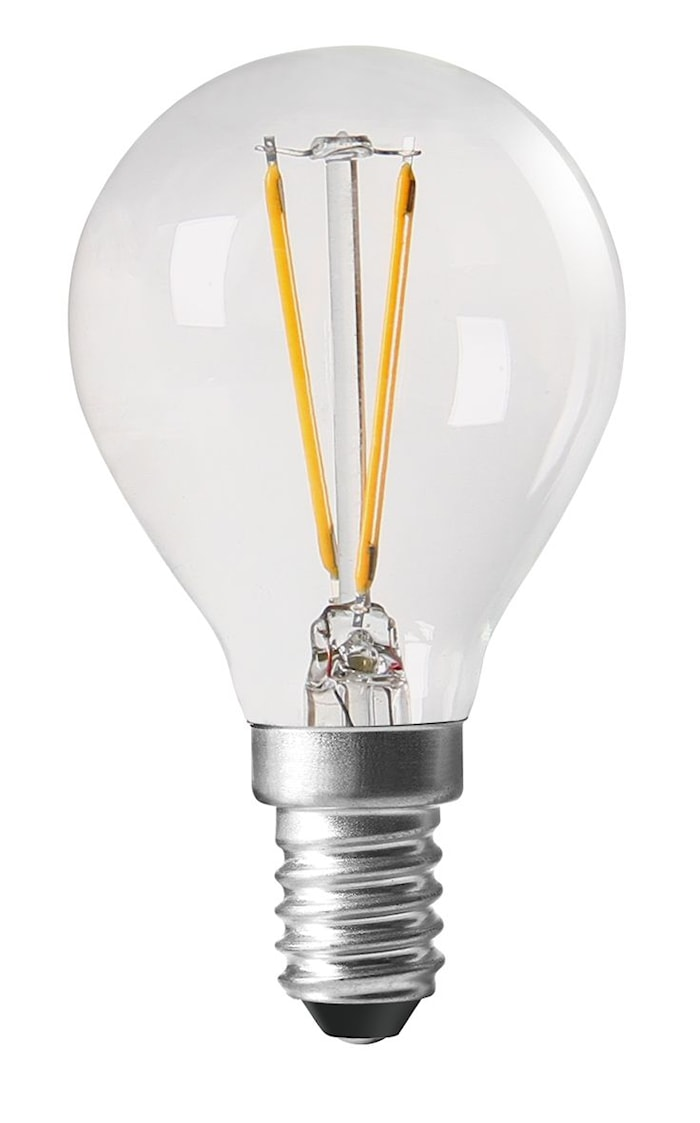 Pære Shine LED klode E14