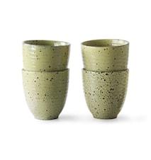 Gradient Ceramics Mugg Yellow 4 st