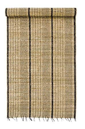 Löpare Sjögräs 50x150 cm Svart/Natur