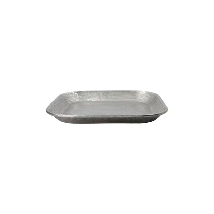 Bricka Malva Antique Silver 30x30 cm