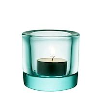 Kivi Ljuslykta 60mm vattengrön Presentförpackning
