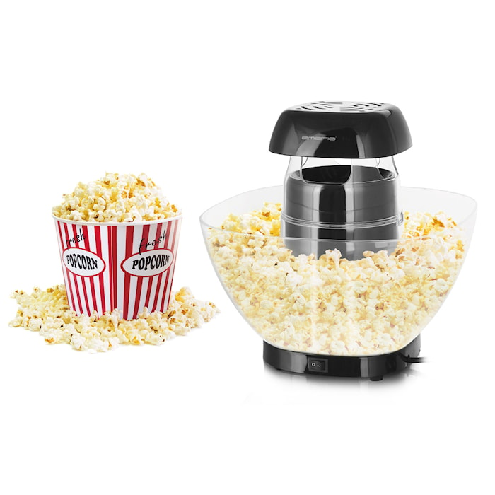 Popcornmaskin med smart skål