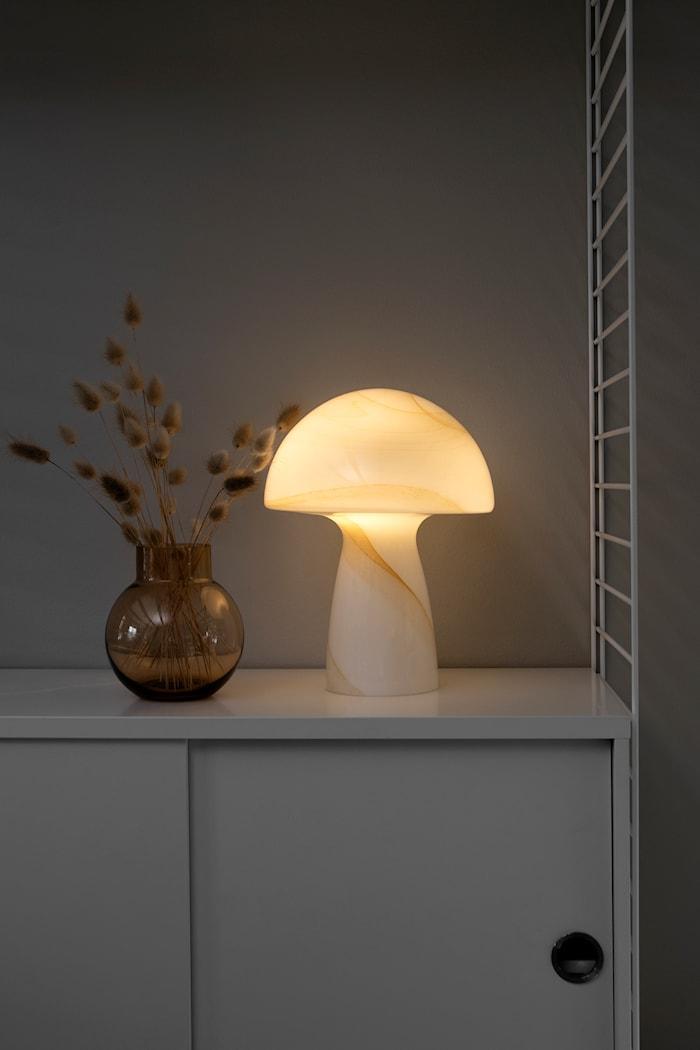 Fungo Bordslampa Beige 22 cm