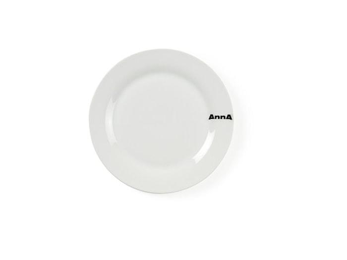 Forretstallerken Porcelæn 19 cm