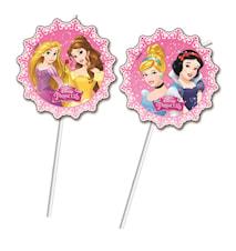 Disney Princess Sugerør 6-pak