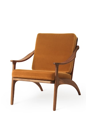 Lean Back Lounge Chair Amber Sammet Teak