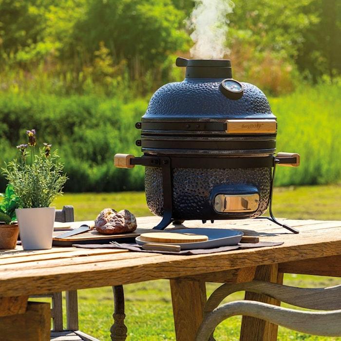 RON Keramisk BBQ grill grå 40 cm (16')
