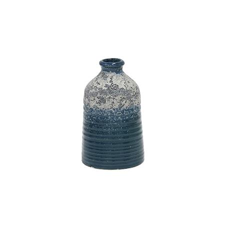 Blomstervase S Keramik Blå 12,8 cm