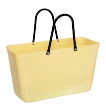 Väska Stor Green Plastic Citrongul