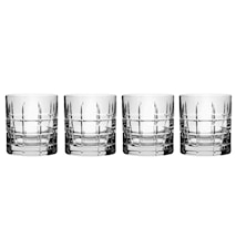 Street Old Fashioned Whiskyglas, 250 ml 4er-Pack