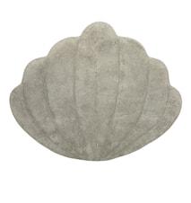 Teppe Shell Lysegrå 96 x 110 cm