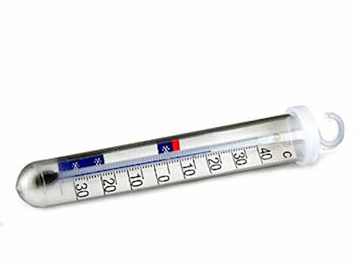 Termometer, Kylskåps 4511 Vit