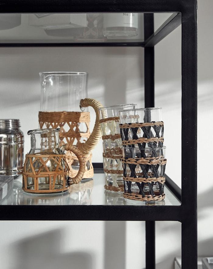 Weva Glass Natur/Hvit