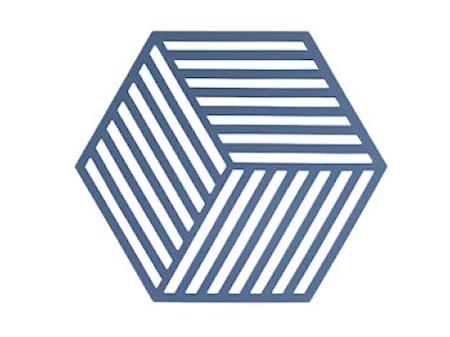 Bordbrikke Denim Hexagon