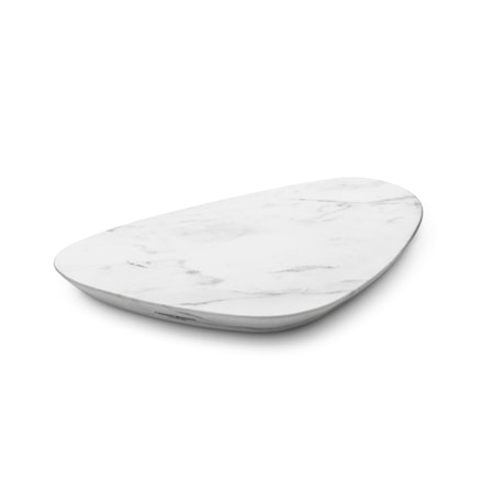 Sky Serveringsbakke Marmor Small