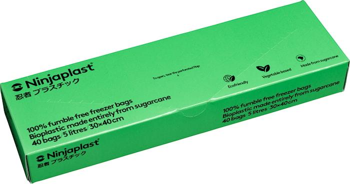 Fryspåsar Fossilfria 5 Liter 40-pack