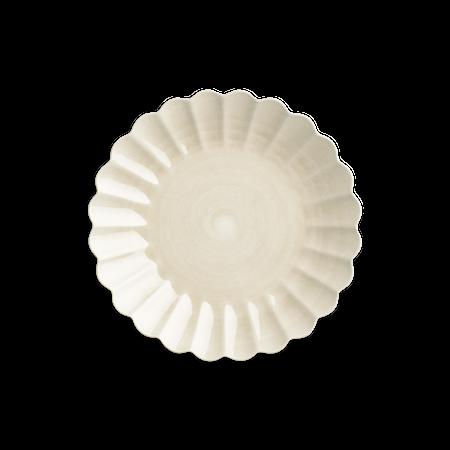 Oyster Tallrik Sand 28 cm