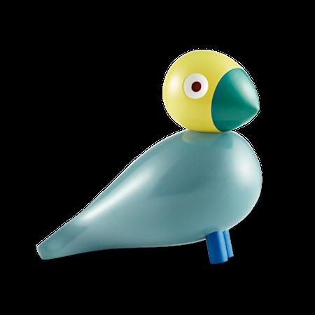 Sångfågel Sunshine turkos/gul