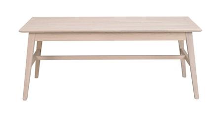 Filippa Soffbord Vitpigmenterad Ek 130x70 cm