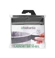 Tvättpåse 60 L Mörkgrå