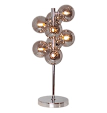 Splendor Bordslampa Krom/rökgrå 56,5cm