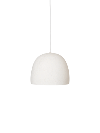 Speckle Pendel Large Off-White