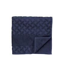 Håndklæde Laurie 140x70 cm Mørkeblå